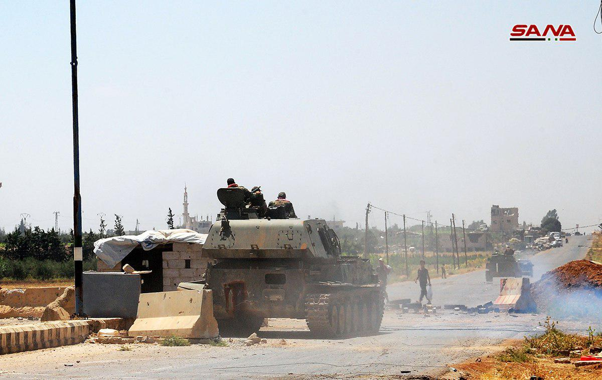 Syrian Millitary Enters The Last Stronghold Of Free Syrian Army In Daraa