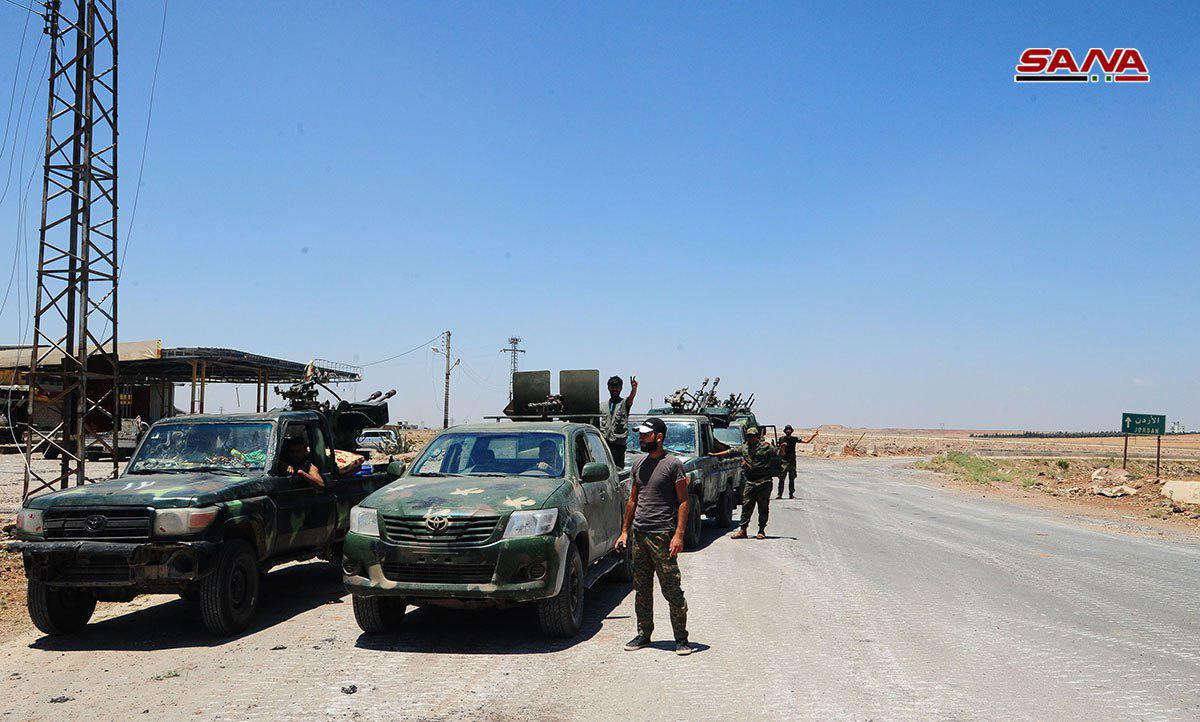 Syrian Millitary Enters More Villages In Al-Quneitra. Militants Begin Their Withdrawal