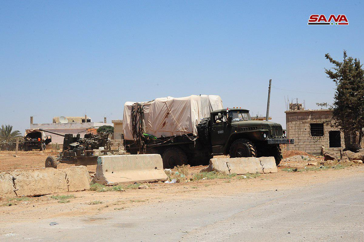 Syrian Military Enters More Towns In Western Daraa And Negotiate With Others