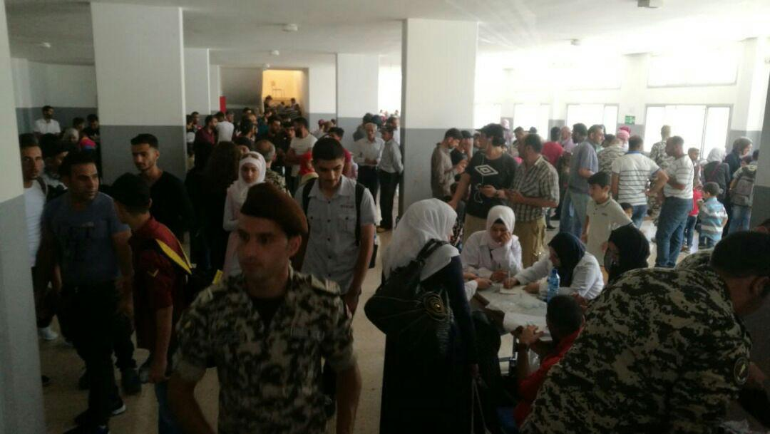 Hundreds Of Syrian Refugees Return From Lebanon To Syria's Beit Jinn And Al-Zabadani