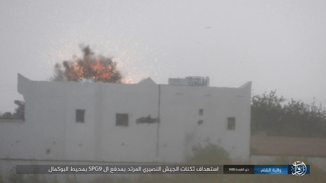 ISIS Launches Second Attack On Syrian Army Positions In Southern Deir Ezzor (Photos)