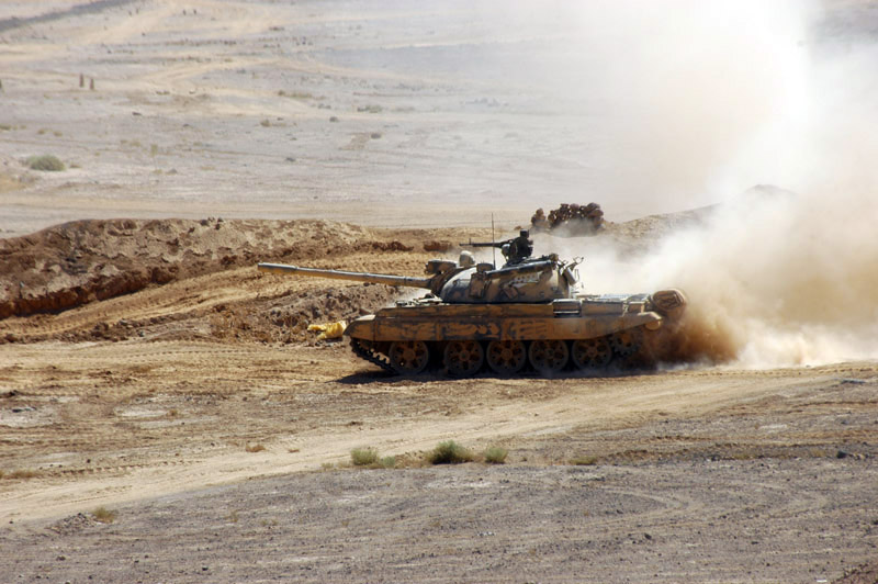 Syrian Army Attacks ISIS Cells In Southern Raqqa