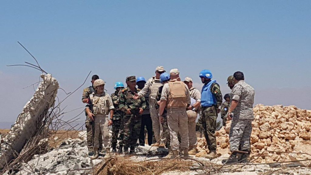 In Photos: Russian, Syrian Troops And UN Forces In Golan Heights Area