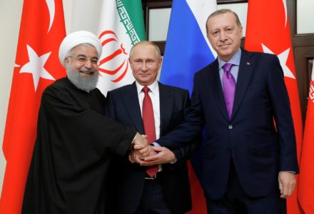 "Is Turkey Sleeping with the Enemy? The Russia -Turkey -Iran ""Triple Entente"""