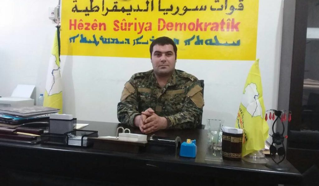 """US-backed SDF' Media Wing: There Are No Negotiations, Coordination With """"Syrian Regime"""""""