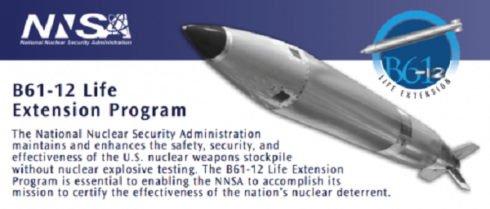 Pentagon Prepares 2020 Production Of Upgraded Nuclear Bomb, Releases Video Of Test-Drop