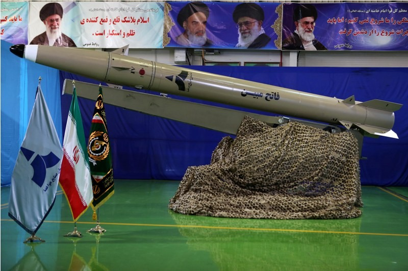 Iran Unveils Upgraded Short-Range Ballistic Missile Fateh Mobin Amid Rising Tensions With United States