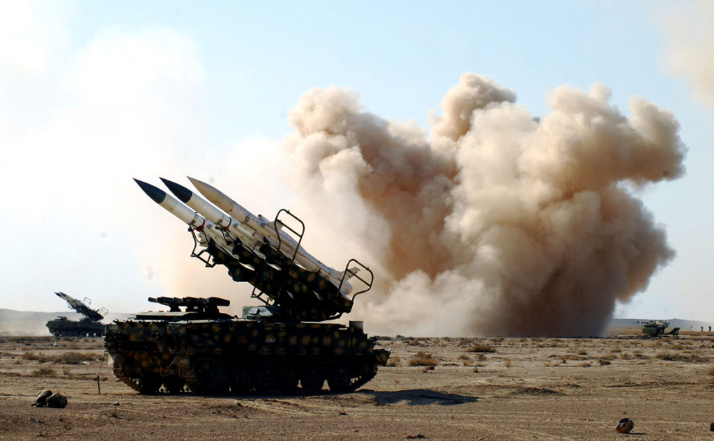 "Syrian Air Defense Forces Intercepted ""Hostile Target"" Near Damascus"