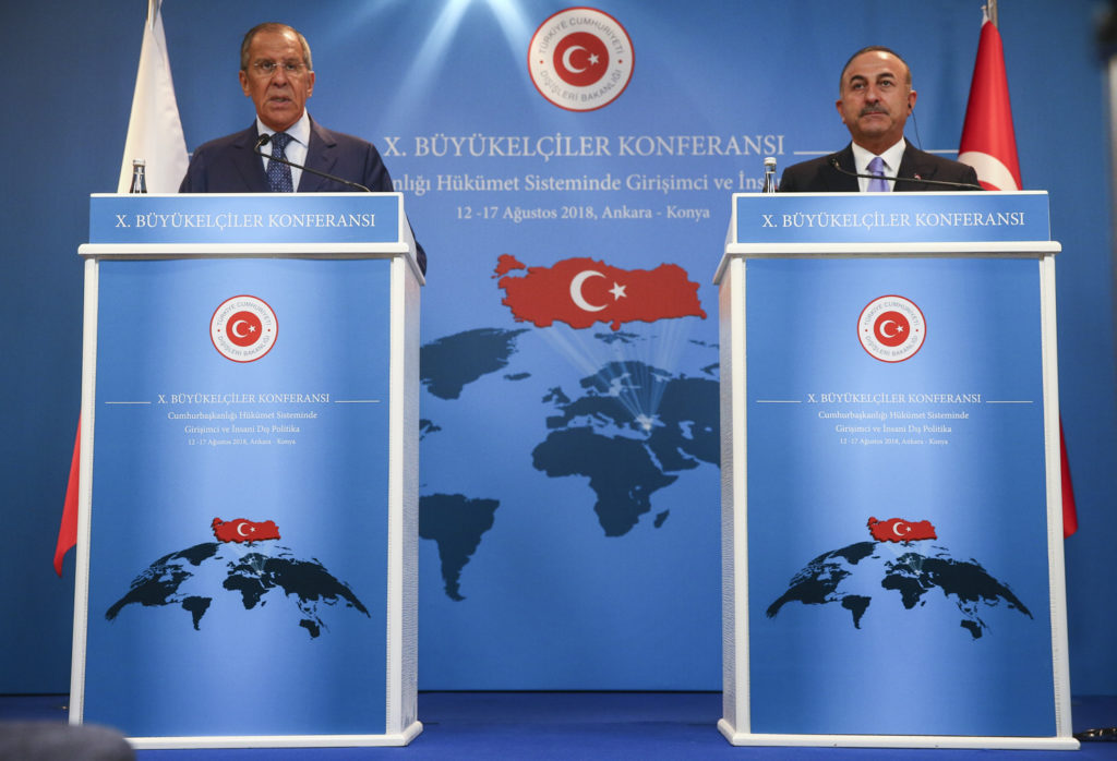 Russian Foreign Minister's Remarks Following Meeting With Turkish Foreign Minister