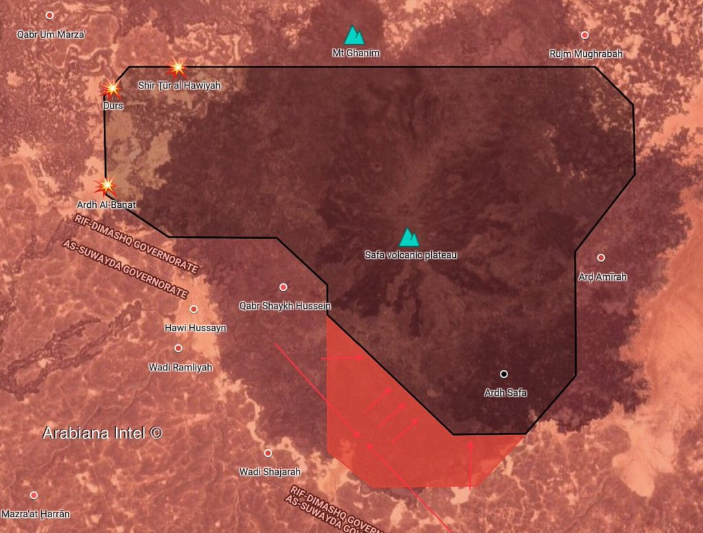 Map Update: Syrian Troops Tighten Siege On ISIS Cells In Safa Area