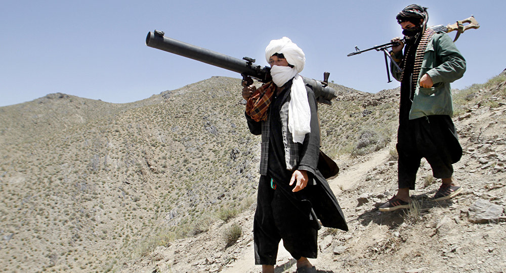Taliban Members Attack Government Troops In Afghanistan's Helmand Province