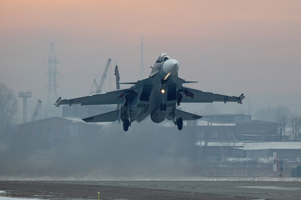 Russian Military To Order At Least 36 Additional Su-30SM Multirole Fighters By End Of 2018