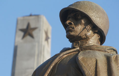 """Russian Foreign Ministry Slams """"Thuggish Attacks"""" Against Soviet Army Monuments In Poland"""