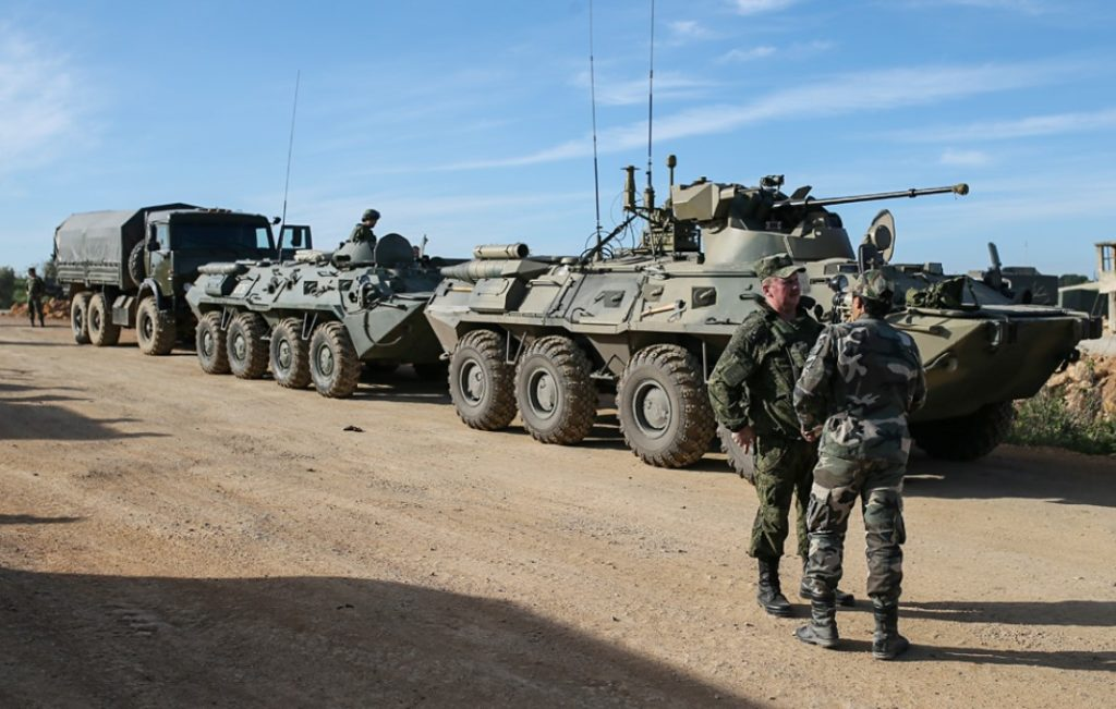 Russian Forces Escored 71 UN Aid Convoys In Syria In 2018