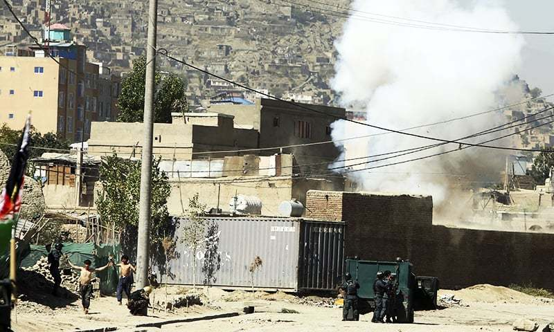 Presidential Palace In Afghan Capital Comes Under Rocket Attack