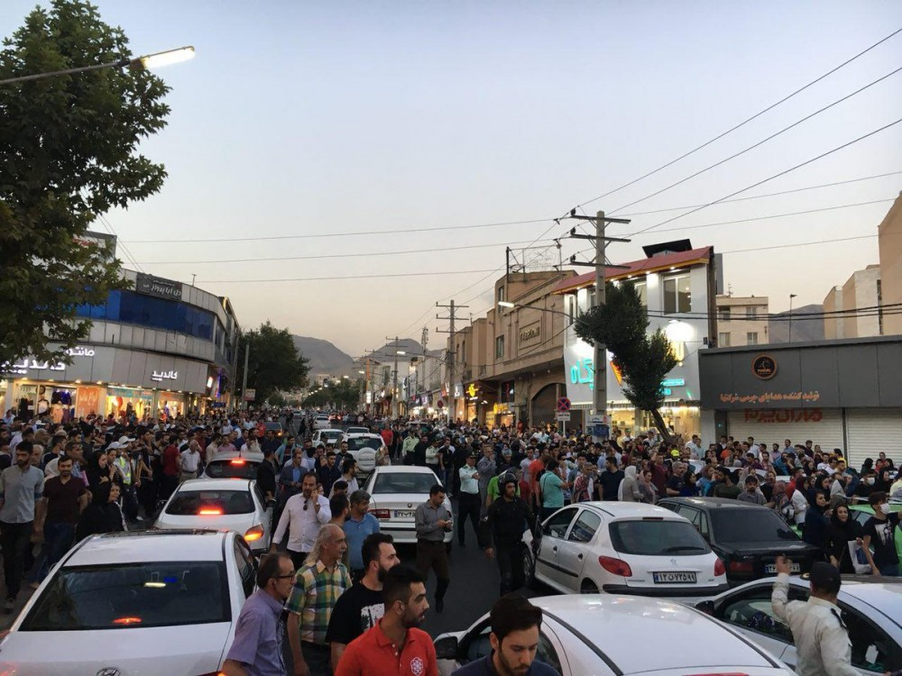 Economic Protests Erupt In 10 Cities Across Iran