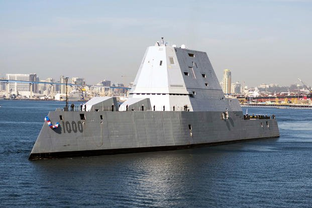Delivery Of Two US Zumwalt-Class Destroyers Is Postponed