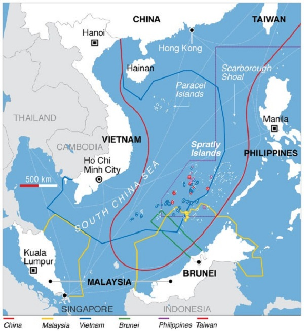Philippines Concerned Over Chinese Radio Warnings To Its Ships And Aircraft In South China Sea