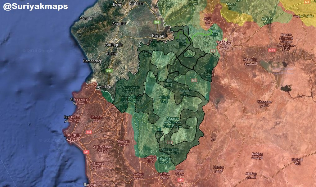 Thousands Of Militants In Syria's Idlib Prepare For Attack On Aleppo, Hama: Russian Military