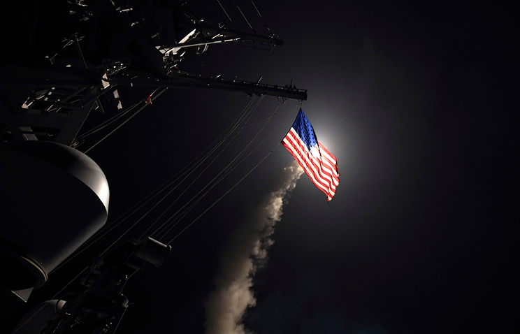 US Brings More Cruise Missile Carriers To Middle East, Syrian Air Defense Prepare To Repel Strikes