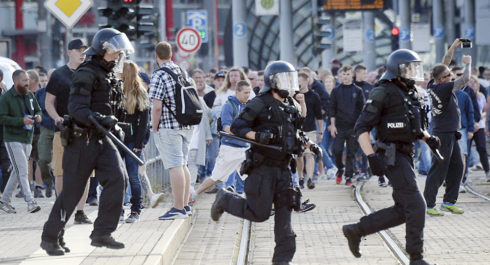 Mass Protests Over Stabbing Incident Involving Migrants Turn Violent In Germany's Chemnitz