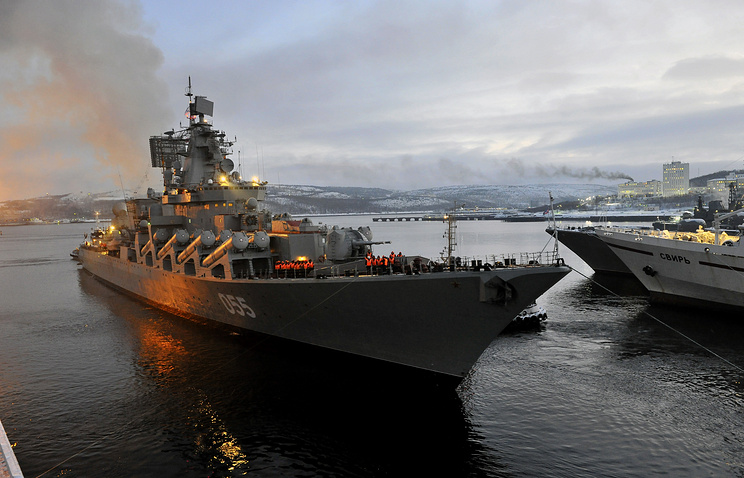 Russia To Hold Naval Drills Near Syria Involving 25 Warships And 30 Aircraft