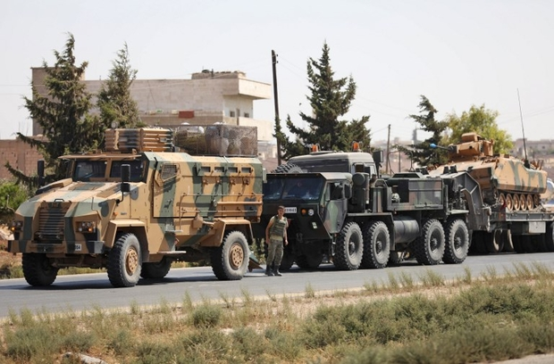 Turkey Deploys Equipment In Syria's Idlib To Repair M4 Highway