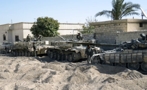 Russia Sends Additional Military Equipment To Syrian Army Ahead Of Its Expected Advance In Northern Latakia