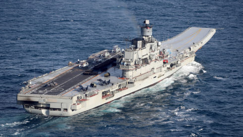 Russia's Aircraft-Carrying Missile Cruiser To Be Upgraded, Become Capable Of Carrying 4++ Generation Fighter Jets