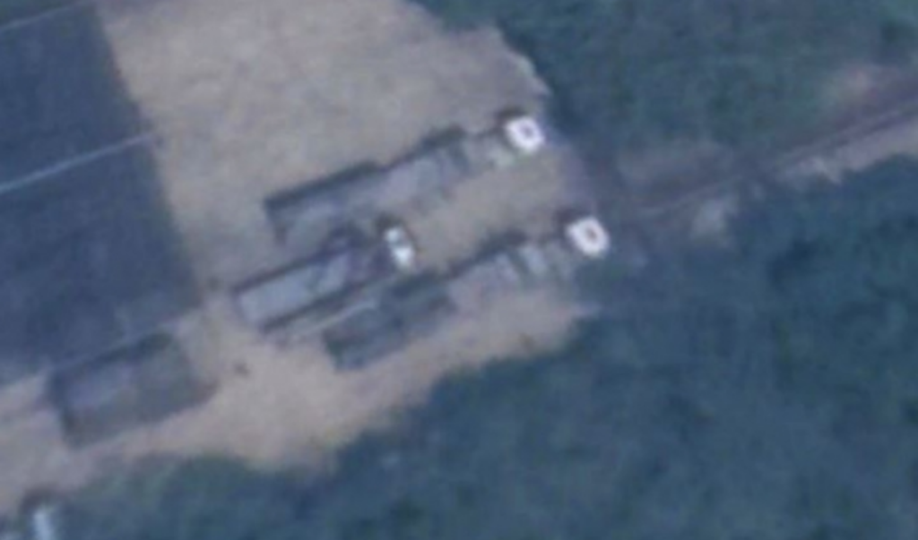 Satellite Image Shows Taiwan's Missiles Positioned Toward Mainland China