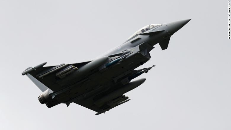"""Air-To-Air Missile Is """"Missing"""" After Spanish Fighter Accidentally Fired It Near Russian Border"""
