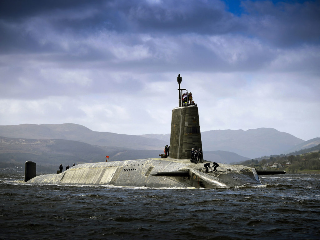 Cracked Missile Tubes Delay British And US Next Generation Nuclear Submarines