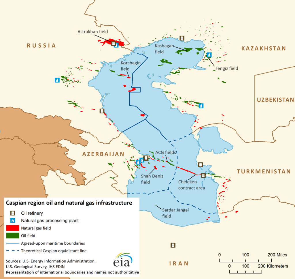 Caspian Five Summit Is Expected To Finalize Sea Legal Status