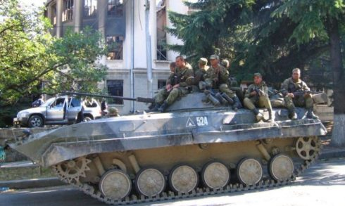 Marking 10 Years After Georgia Started War with Russia