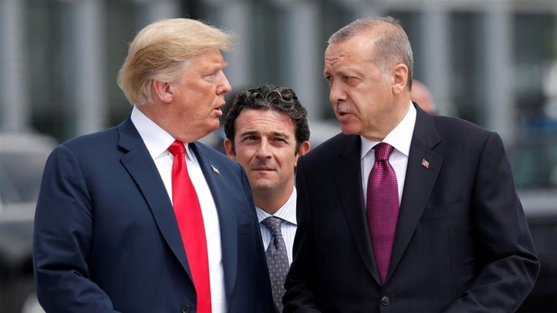 """NATO Allies"": U.S. Imposes Personal Sanctions On Two Turkish Ministers"