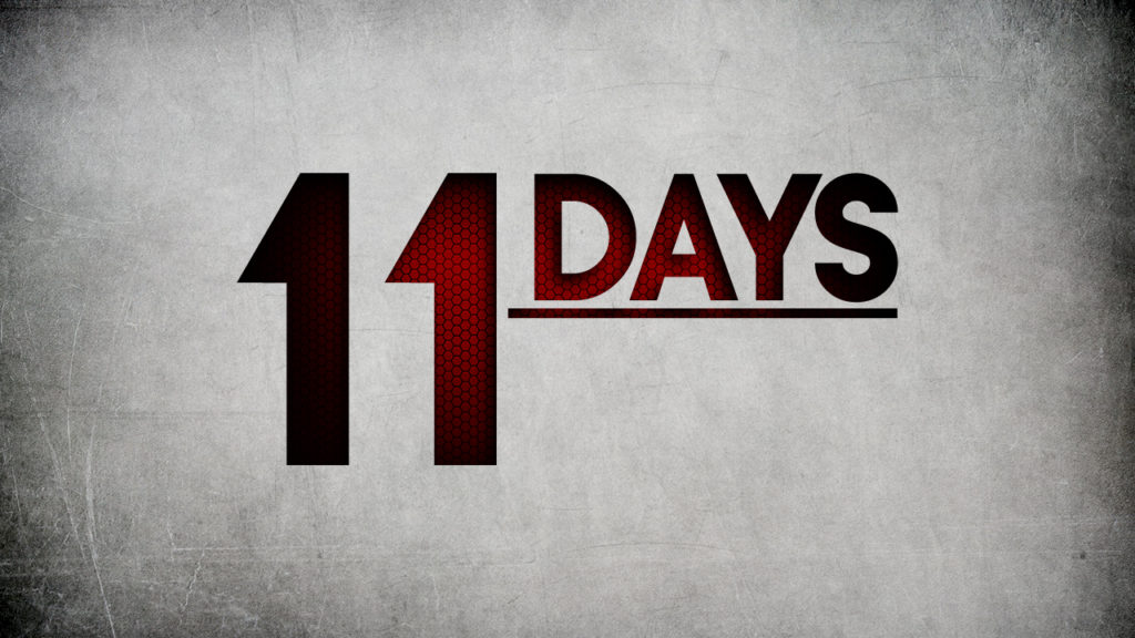 11 Days To Keep SouhFront Alive!