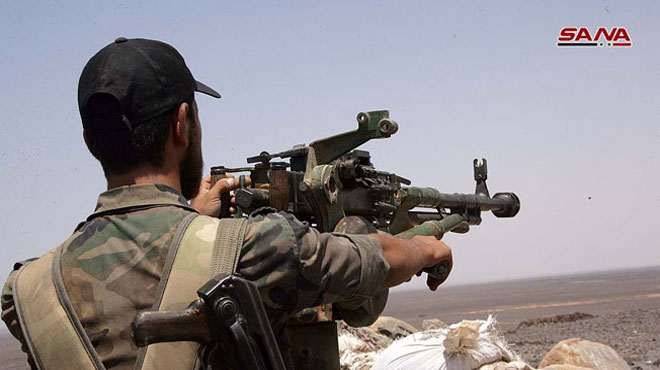 Syrian Army Repels Militants' Attack In Northern Hama