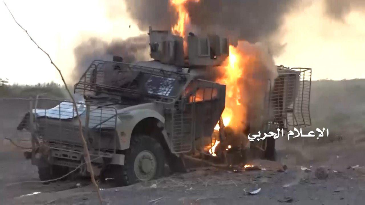 Houthi Fighters Destroyed 126 Vehicles Of Saudi-led Coalition In July