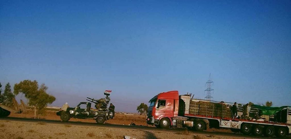 More Convoys Of Tiger Forces Arrive In Northern Hama (Video, Photos)