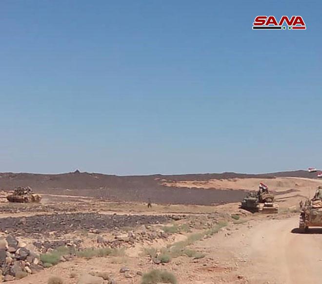 Syrian Army Restores Control Of Al-Suwayda's Administration Border As ISIS Terrorists Retreat (Photos)