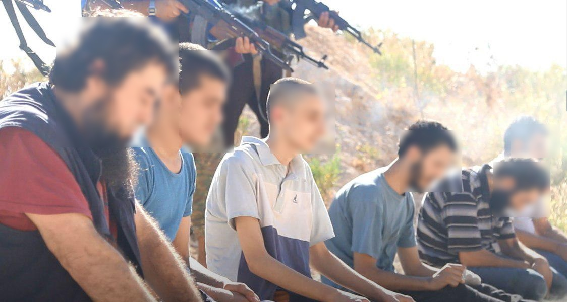 Hay'at Tahrir Al-Sham Executes Six ISIS Members In Idlib Province