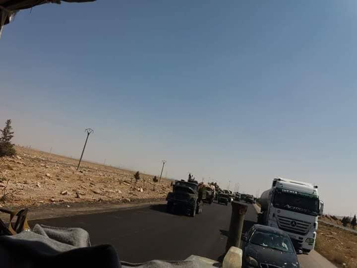 Russian-Backed 5th Assault Corps Arrive In Northern Hama (Photos)