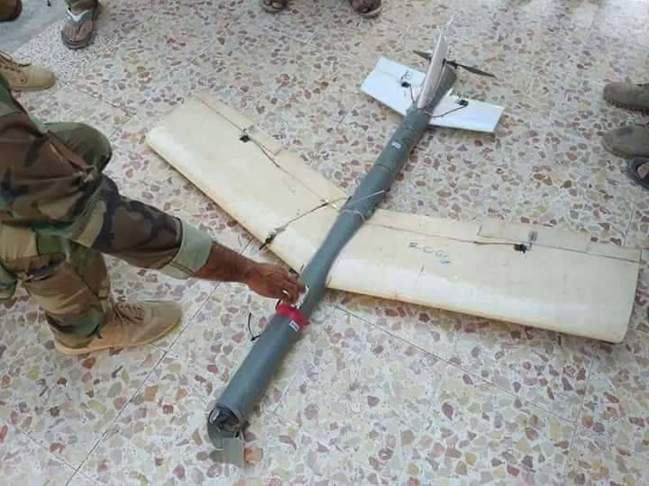 Syrian Military Shoots Down Suicide Drones In Northern Hama (Photos)