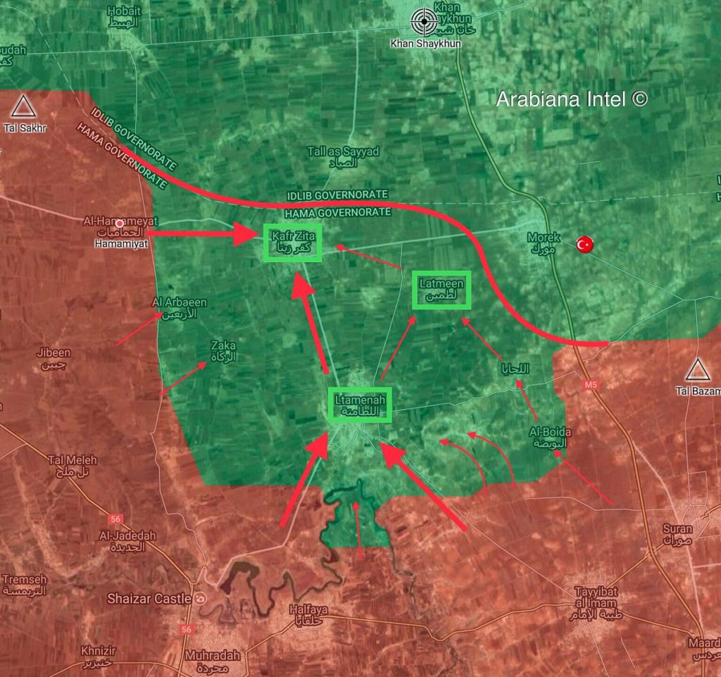 In Maps: Possible Scenario Of Syrian Army Advance In Idlib