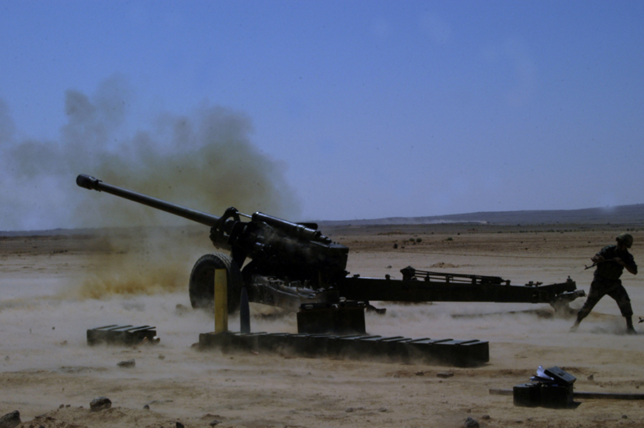 Syrian Army Shelled Several Positions Of Hay'at Tahrir Al-Sham And Its Allies In Idlib And Hama