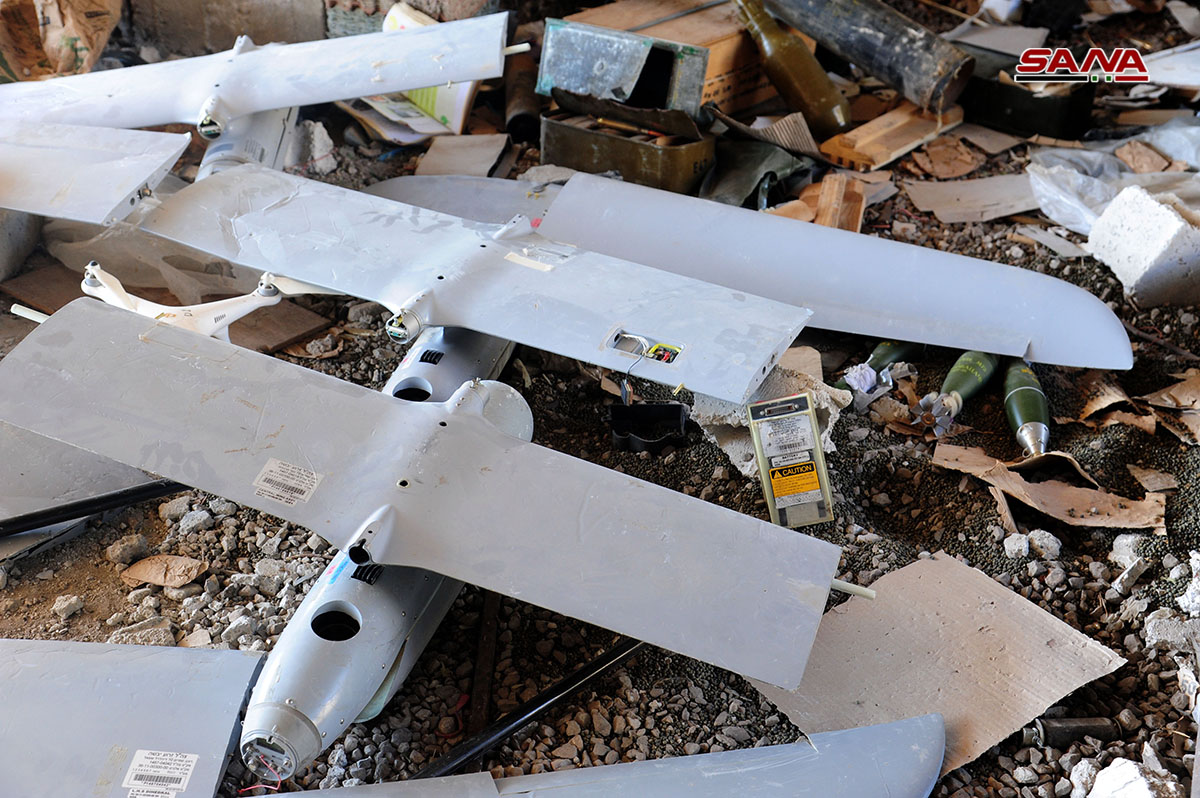 Syrian Troops Uncover Israeli-Made UAVs In Area Captured From ISIS In Western Daraa (Photos)
