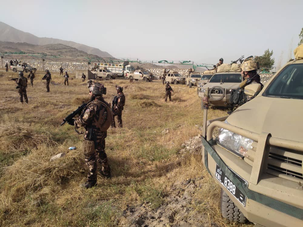 Security Forces Kill Dozens Of Militants In Series Of Operations Throughout Afghanistan