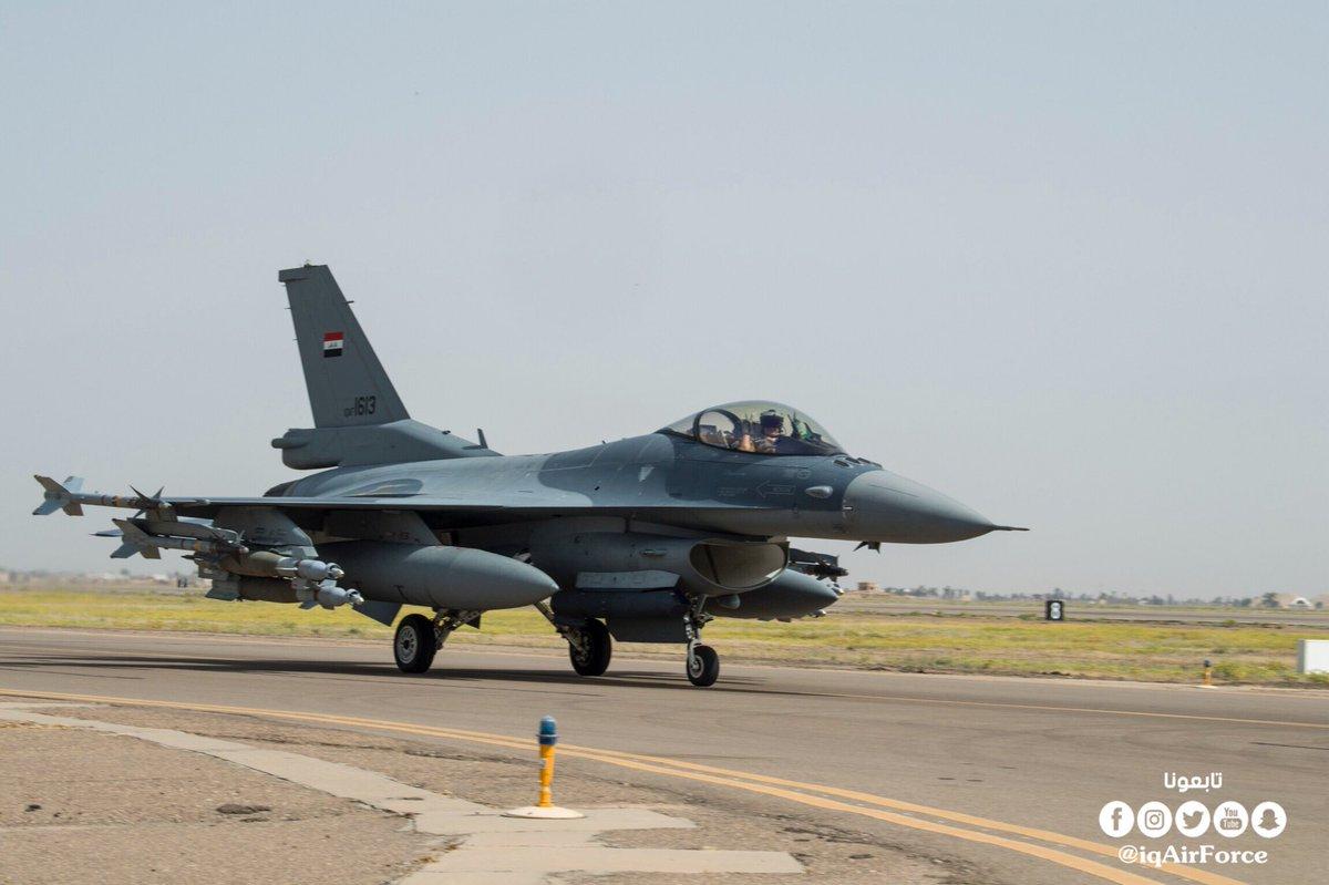 Iraqi Warplanes Bomb ISIS Operations Room Inside Syria