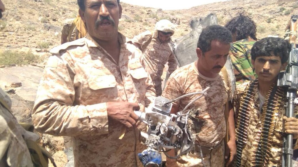 Houthis' Drones Attack Meeting Of Saudi-led Coalition Commanders In Central Yemen (Photos)
