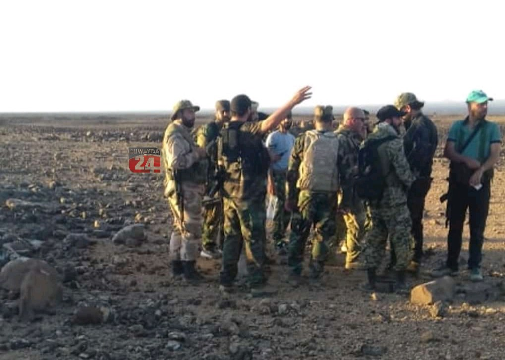 Syria's 5th Corps Conducted Special Operation Against ISIS Cells North Of al-Suwayda (Photos)